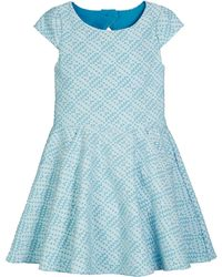 Zoe - Metallic Studded Knit Pocket Dress - Lyst