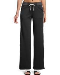 BLANC NOIR - Vista Straight-leg Drawstring Track Trousers - Lyst