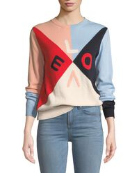 Chinti & Parker - Mexicano Love Colorblock Cashmere Sweater - Lyst
