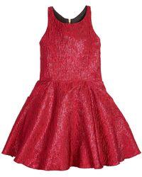 Zoe - Rea Abstract Brocade T-back Swing Dress - Lyst