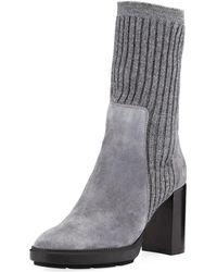 Aquatalia - Imogen Ribbed Sweater Boot - Lyst