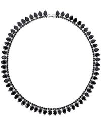 Fallon | Monarch Pointed Choker Necklace | Lyst