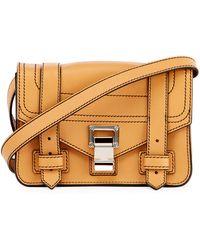 Proenza Schouler | Ps1 Mini Leather Crossbody Bag | Lyst