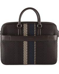 Ermenegildo Zegna - Men's Pelle Briefcase - Lyst