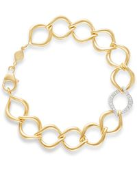 Jamie Wolf - 18k Aladdin Chain-link Bracelet W/ Diamond Link - Lyst