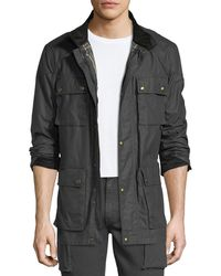 Belstaff - Trailmaster Waxed Cotton Utility Jacket - Lyst