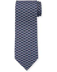 Ferragamo - Fido Dogs Printed Silk Tie - Lyst
