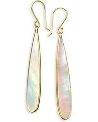 Ippolita - 18k Rock Candy Mother-of-pearl Long Drop Earrings - Lyst