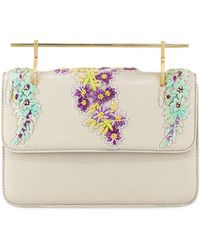 M2malletier - La Fleur Du Mal Floral Top Handle Bag - Lyst
