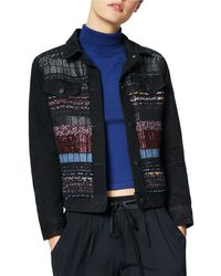 Ramy Brook - Landon Tweed Trucker Jacket - Lyst