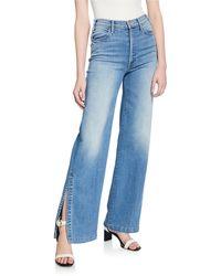 Mother - The Hustler Sidewinder Flare Jeans - Lyst