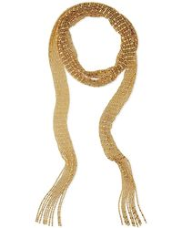 Auden - Leighton Gold-plated Scarf Necklace - Lyst