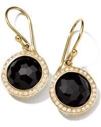Ippolita | 18k Mini Lollipop Earrings With Diamonds | Lyst