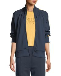 Spiritual Gangster - Side-stripe Zip-front Track Jacket - Lyst