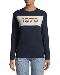 Bella Freud - 1970 Rainbow Graphic Cashmere Jumper - Lyst
