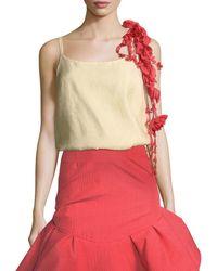Rosie Assoulin - Camisole W/removable Flower Garland - Lyst