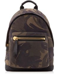 Tom Ford - Men's Camouflage-print Leather Backpack - Lyst