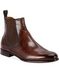 Berluti - Men's Scritto Leather Chelsea Boots - Lyst