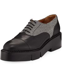 Robert Clergerie - Charlit Platform Oxfords - Lyst