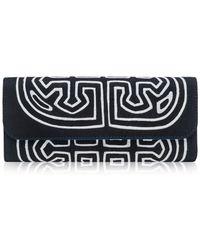 Mola Sasa Chichiq Embroidered Clutch Bag