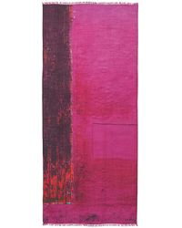 Akris - Chefchaouen Wood Door Cashmere Silk Scarf - Lyst