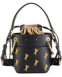 Chloé - Roy Mini Horses Bucket Bag - Lyst