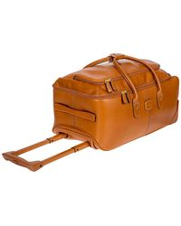 "Bric's - Life Pelle 21"" Rolling Duffel Bag Luggage - Lyst"