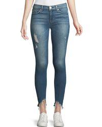 Hudson Jeans Nico Mid-rise Super Skinny Crop Jean