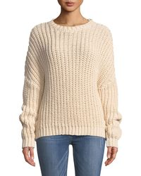 Zimmermann - Sunny Braid Cable-knit Sweater - Lyst