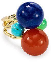 Ippolita Nova 18k Large 4-stone Ring - Blue