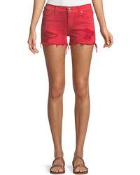 Hudson Jeans - Kenzie Cutoff Jean Shorts - Lyst