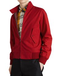 Burberry - Men's Dalham Cotton Jacket - Lyst