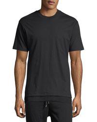 Public School - Walcott Mesh-trim T-shirt - Lyst