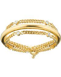 Vita Fede - Luna Crystal Chain Wrap Bracelet - Lyst