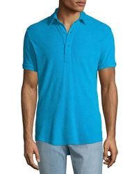 Orlebar Brown - Men's Sebastian Toweling Polo Shirt - Lyst