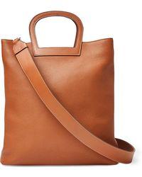 Ralph Lauren - Horseshoe Tall Leather Tote Bag - Lyst
