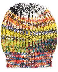 Missoni - Multicolored Volume Knit Hat - Lyst