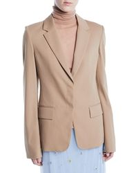 Jason Wu - Notched-lapel Single-breasted Wool Suiting Blazer - Lyst