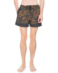 Dries Van Noten - Floral-print Swim Trunks - Lyst
