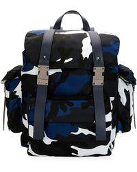 Valentino - Camo-print Nylon Backpack - Lyst