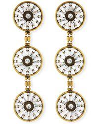 Auden - Orlando Triple Drop Earrings - Lyst