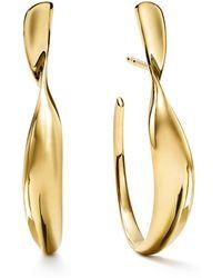 Ippolita - 18k Classico Small Twisted Ribbon Hoop Earrings - Lyst