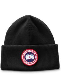 Canada Goose - Men's Arctic Disc Toque Knit Beanie Hat - Lyst