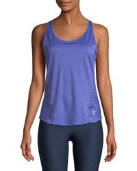 Under Armour - Perpetual Cutout-back Performance Tank - Lyst
