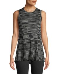 M Missoni - Space-dyed Ribbed Crewneck Tank - Lyst