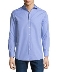 Ralph Lauren - Men's Bond End-on-end Dress Shirt - Lyst