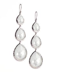 Ippolita - Triple Teardrop Earrings - Lyst