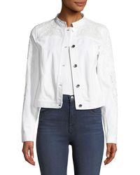 Elie Tahari - Esperanza Embroidered Jacket - Lyst