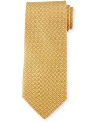 Ferragamo - Rabbit-pattern Silk Tie - Lyst
