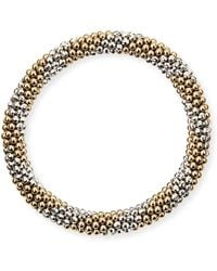 Meredith Frederick - Elsie D 14k And Silver Bead Bracelet - Lyst